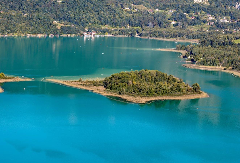 lac Aiguebelette et alentours