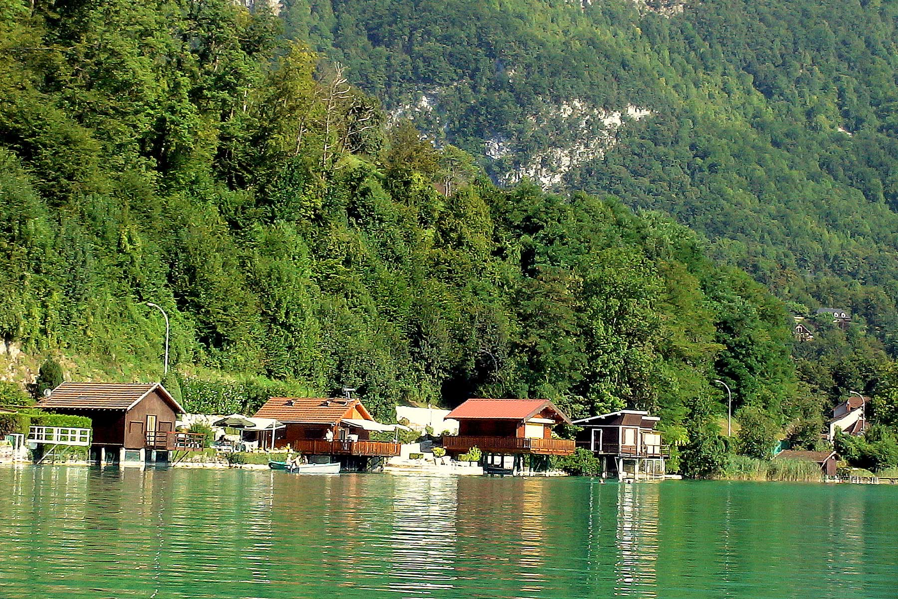 rives lac d'Aiguebelette