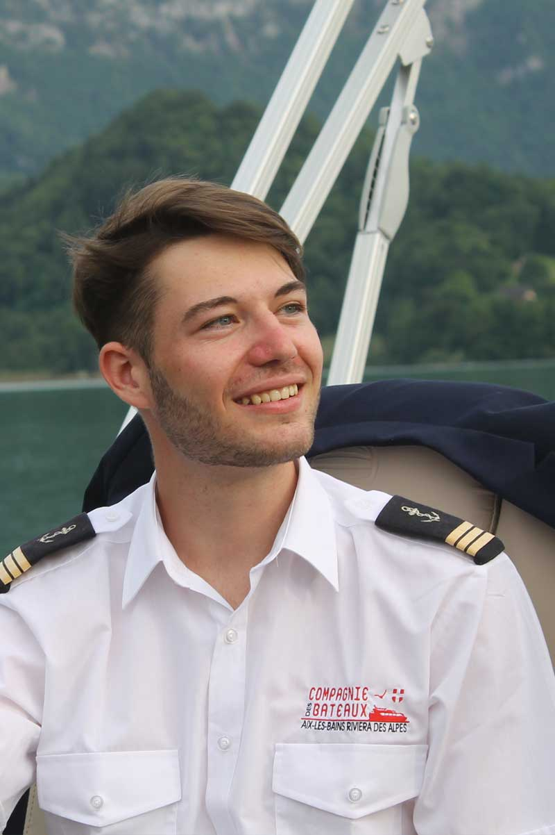 pilote bateau