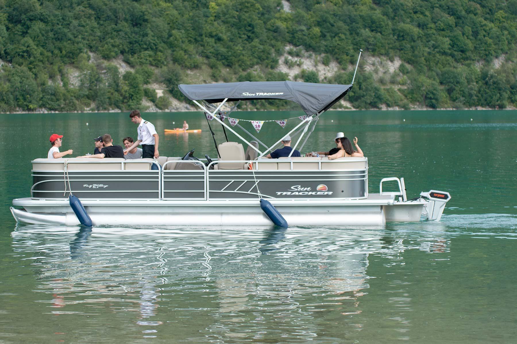 croisière lac d'Aiguebelette