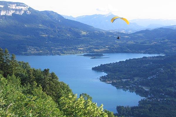 paysage lac Aiguebelette