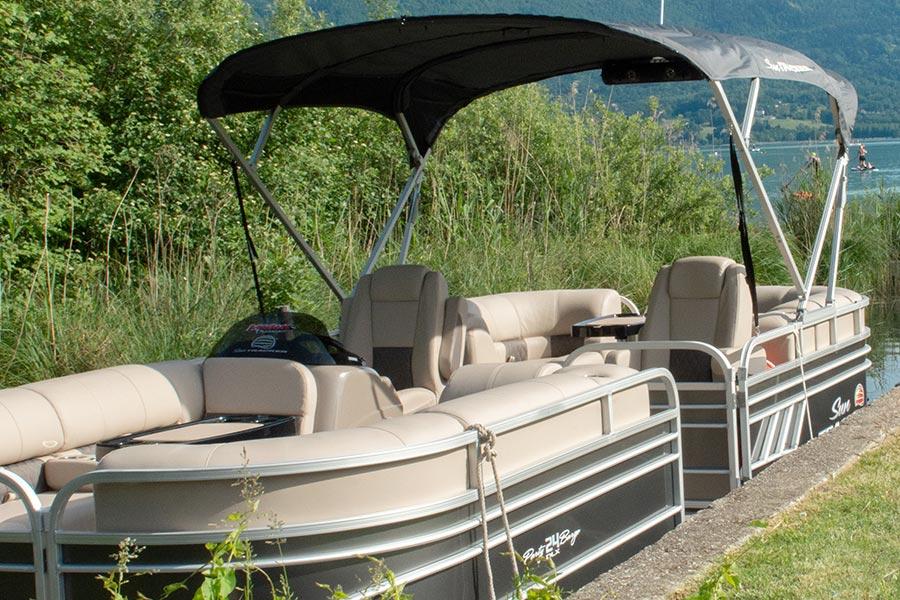 bateau lac Aiguebelette